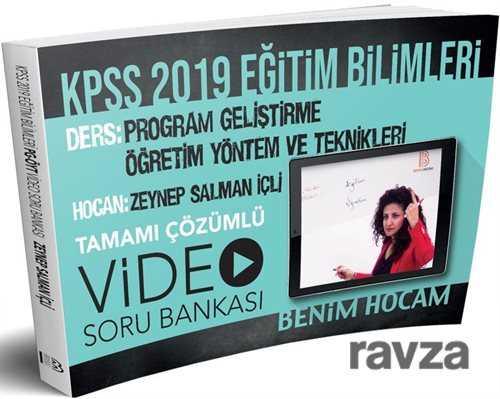 Benim Hocam Yayınları - 2019 KPSS Eğitim Bilimleri Program Geliştirme Öğretim Yöntem ve Teknikleri Video Soru Bankası