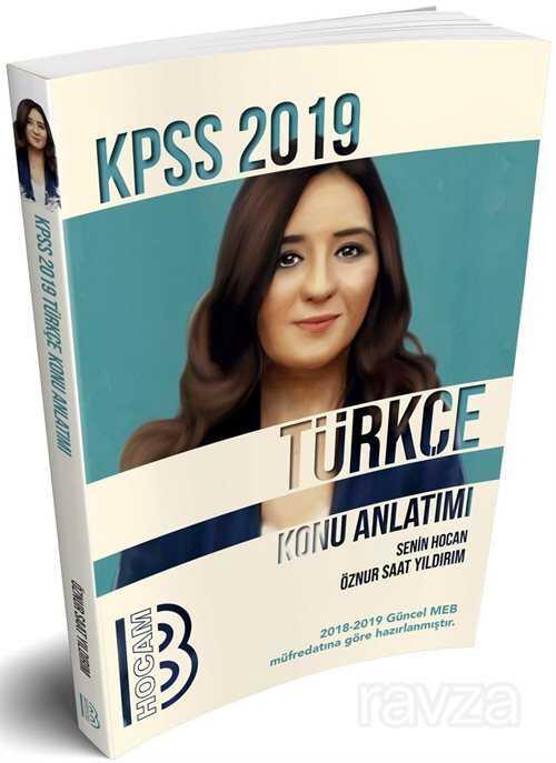 2019 KPSS Türkçe Konu Anlatımlı
