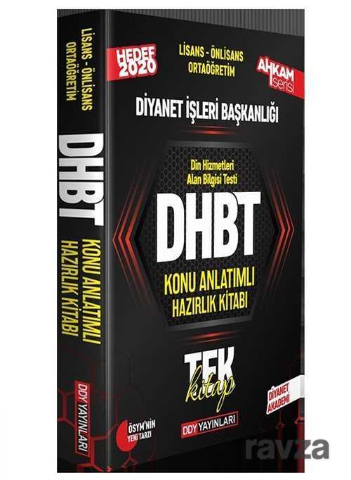 DDY Yayınları - 2020 DHBT Ahkam Serisi Tüm Adaylar Konu Anlatımlı Hazırlık Kitabı
