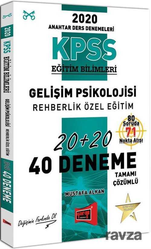 2020 KPSS Eğitim Bilimleri Gelişim Psikolojisi, Rehberlik Özel Eğitim Tamamı Çözümlü 40 Deneme