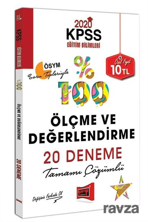 Yargı Yayınevi (Ankara) - 2020 KPSS Eğitim Bilimleri Ölçme ve Değerlendirme Tamamı Çözümlü 20 Deneme