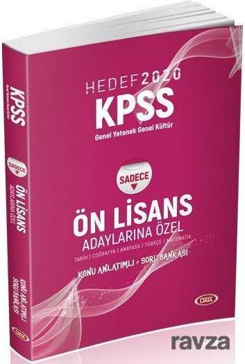 Data Yayınları - 2020 KPSS Genel Kültür Genel Yetenek Ön Lisans (Adaylarına Özel) Konu Anlatımlı Soru Bankası