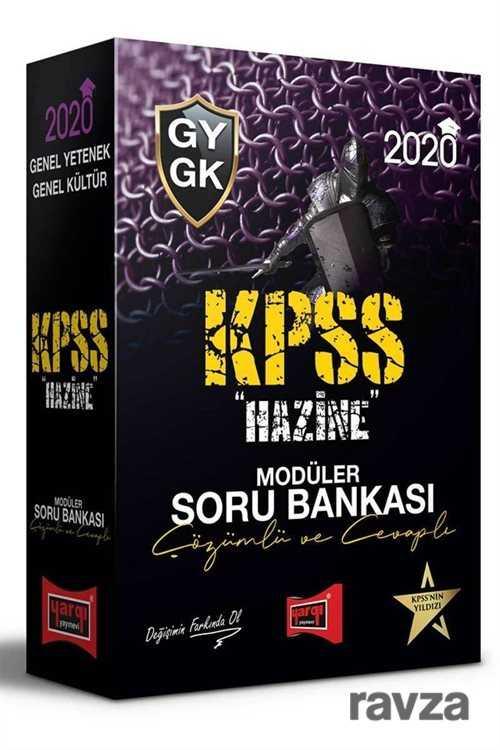 Yargı Yayınevi (Ankara) - 2020 KPSS Genel Yetenek Genel Kültür Hazine Çözümlü ve Cevaplı Modüler Soru Bankası Seti