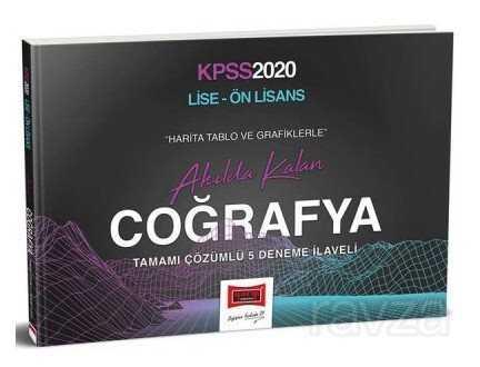 2020 KPSS Lise Ön Lisans Tablo ve Grafiklerle Akılda Kalan Coğrafya Kitabı