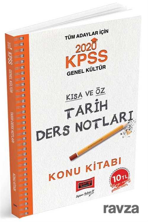 Yargı Yayınevi (Ankara) - 2020 KPSS Tarih Kısa ve Öz Ders Notları