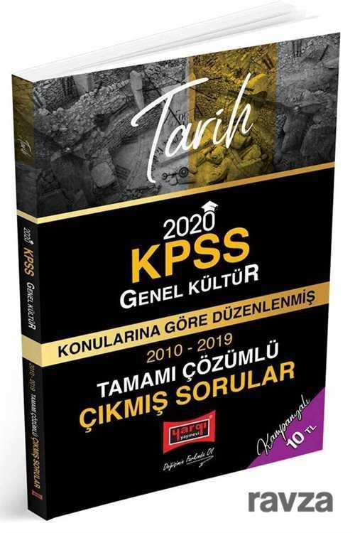 Yargı Yayınevi (Ankara) - 2020 KPSS Tarih Konularına Göre Düzenlenmiş Tamamı Çözümlü Çıkmış Sorular