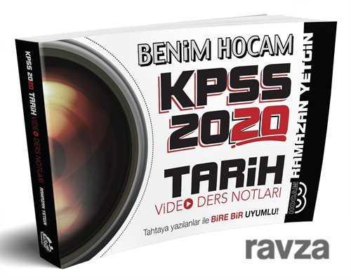 Benim Hocam Yayınları - 2020 KPSS Tarih Video Ders Notları