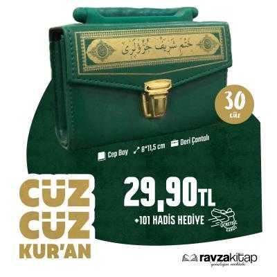 Ravzakitap Kampanya - 30 Cüz Kur'an-ı Kerim + 101 Hadis-i Şerif Kitabı Cep Boy