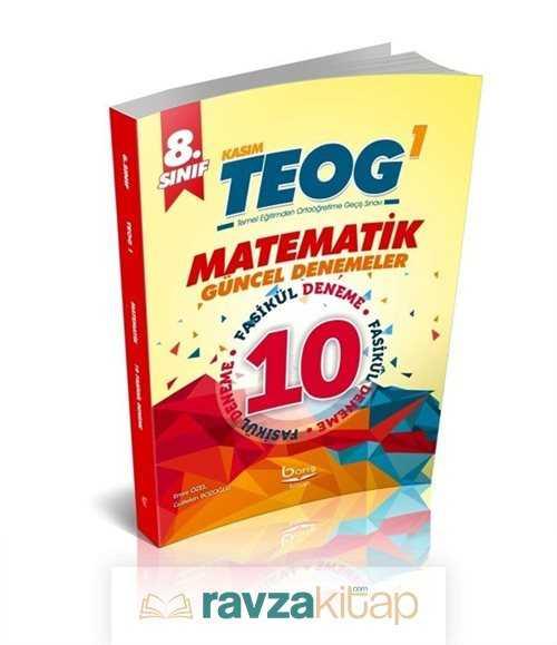 Barış Akademi - 8. Sınıf TEOG 1 Matematik 10'lu Güncel Denemeler