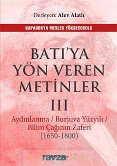 Alfa Yayınları - Batı'ya Yön Veren Metinler III