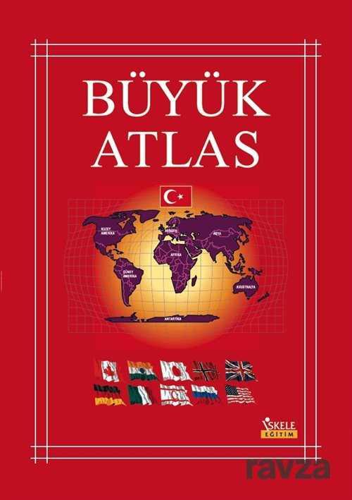 İskele Yayıncılık - Büyük Atlas (Karton Kapak)