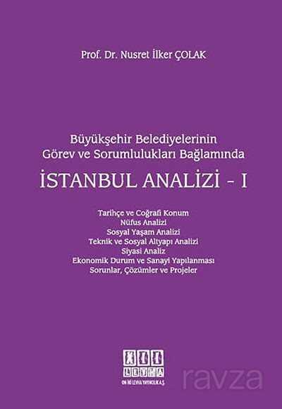 Büyükşehir Belediyelerinin Görev ve Sorumlulukları Bağlamında İstanbul Analizi -I