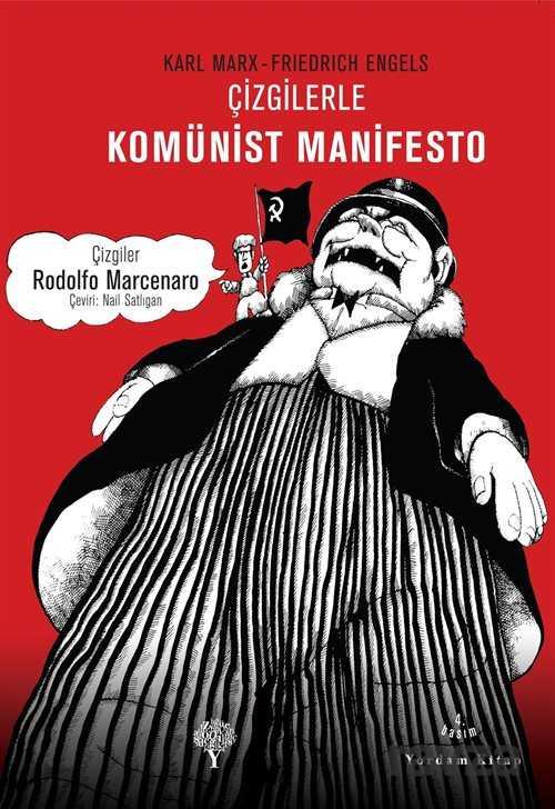 Yordam Kitap - Çizgilerle Komünist Manifesto