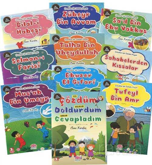 Çocuklar İçin Sahabe Hayatı (10 Kitap)