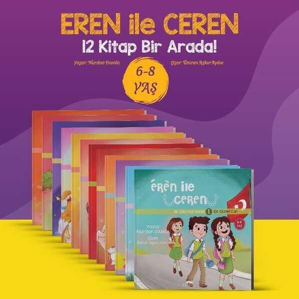 Eren ile Ceren ( 12 Seri Kitap)