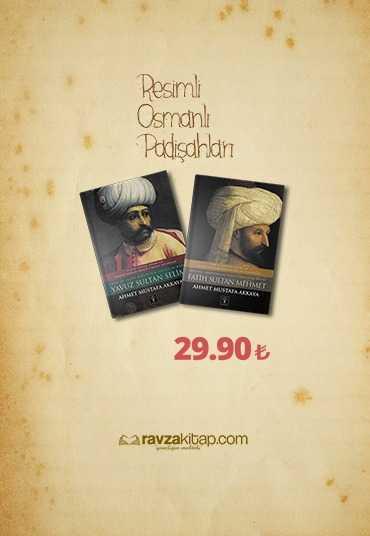 Ravzakitap Kampanya - Resimli Osmanlı Padişahları ( 2 Kitap )
