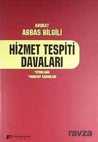 Karahan Kitabevi (Ders Kitapları) - Hizmet Tespiti Davaları