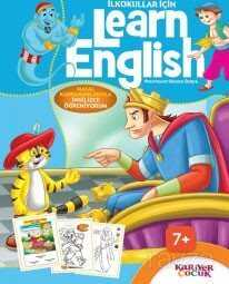 İlkokullar İçin Learn English-Mavi