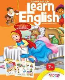 İlkokullar İçin Learn English - Turuncu