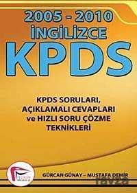 Pelikan Tıp Teknik Yayınları - İngilizce KPDS (2005 - 2010)