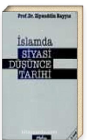 Ravza Sahaf - İslamda Siyasi Düşünce Tarihi (5-G-1)