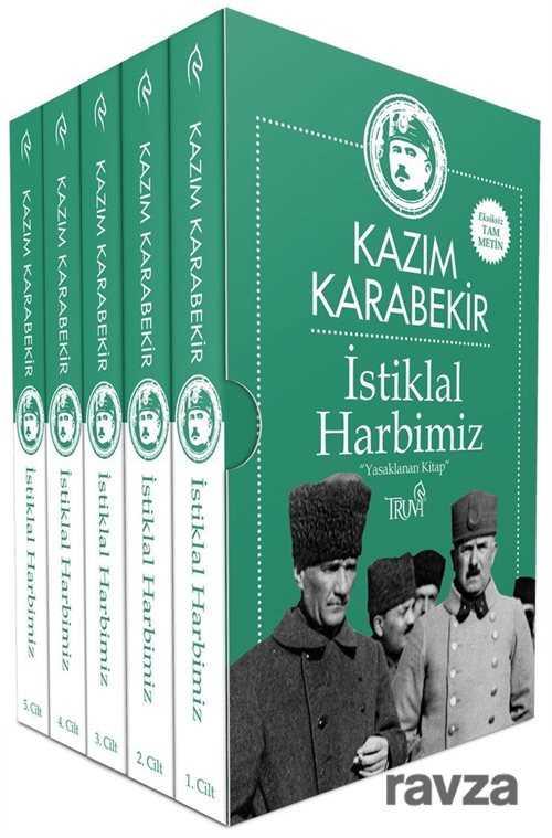 İstiklal Harbimiz (5 Cilt Kutulu) Kazım Karabekir