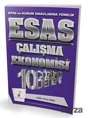 Pelikan Tıp Teknik Yayınları - KPSS Esas Çalışma Ekonomisi 10 Çözümlü Deneme