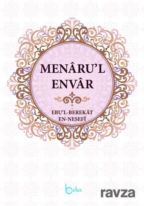 Beka Yayınları - Menaru'l Envar