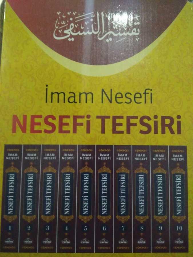 Ravza Yayınları - Nesefi Tefsiri (10 Cilt Takım) (Şamua)