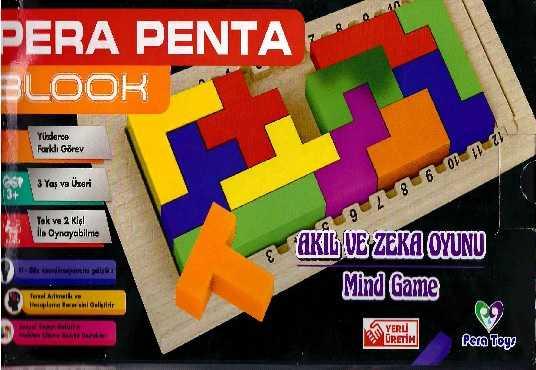 Pera Penta Blook Akıl ve Zeka Oyunu