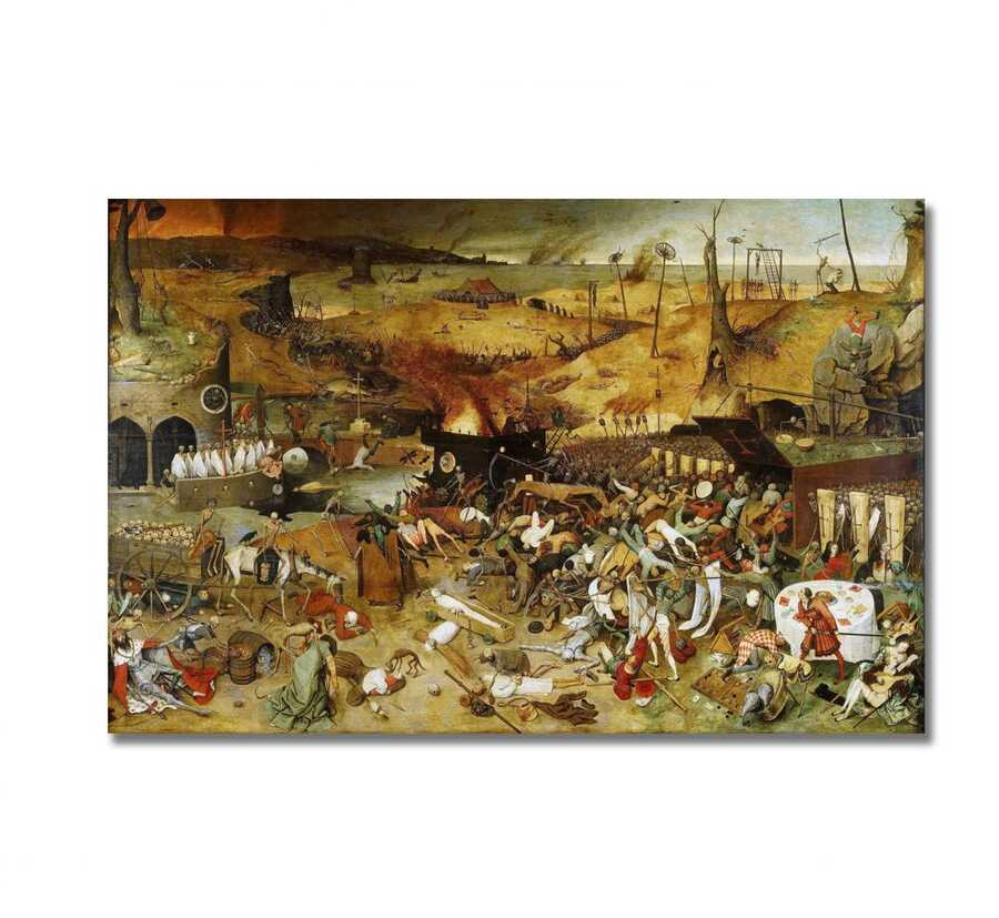 Pieter Brugel - The Triumph of Death Tablo |80 X 80 cm|