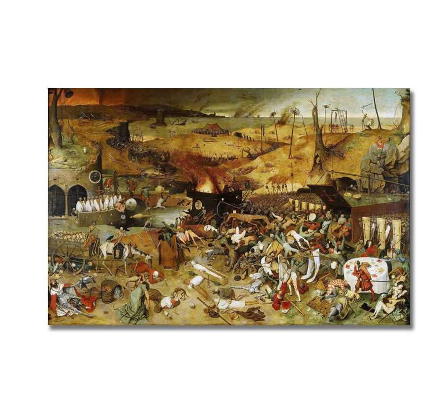 Pieter Brugel - The Triumph of Death Tablo |60 X 80 cm|