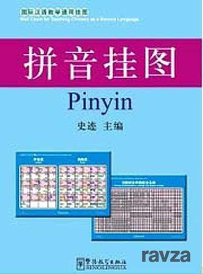 Pinyin Charts 52x76 cm (Çince Fonetik Alfabesi Posterleri)
