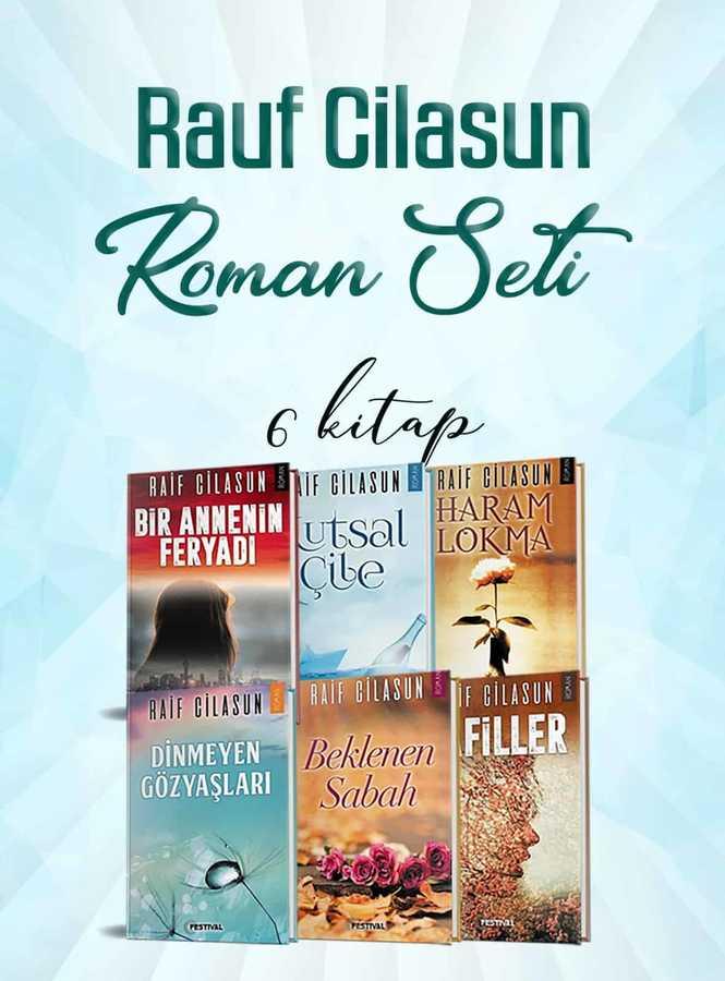 Raif Cilasun Roman Seti 6 Kitap