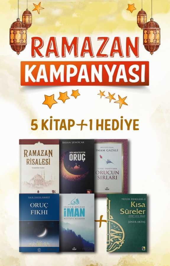 Ramazan Seti 5 Kitap+1 Hediye