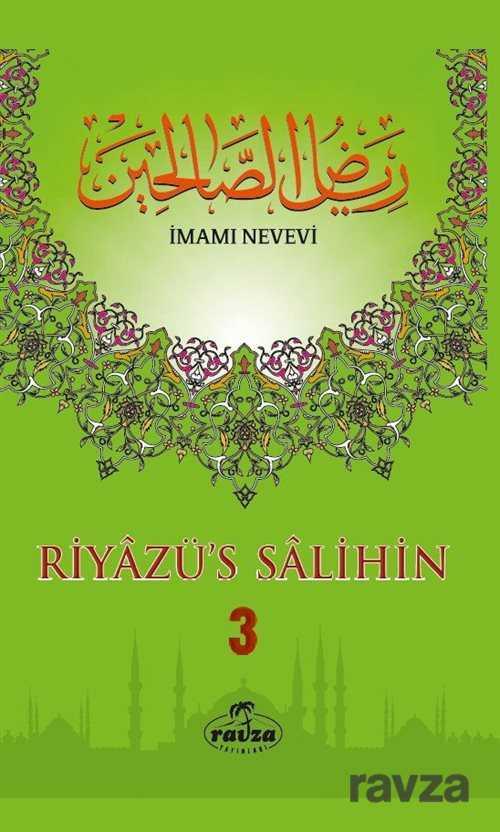 Ravza Yayınları - Riyazü's Salihin (3 Cilt Takım Büyük Boy -İthal)