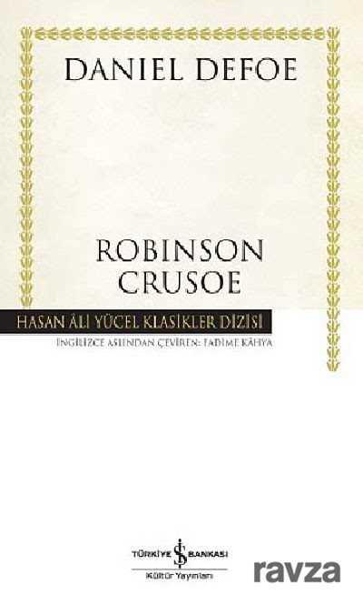 İş Bankası Yayınları - Robinson Crusoe (Ciltli)