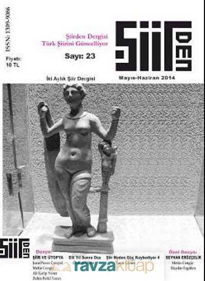 Şiirden (Dergi) - Şiirden İki Aylık Şiir Dergisi Sayı:23 Mayıs-Haziran 2014