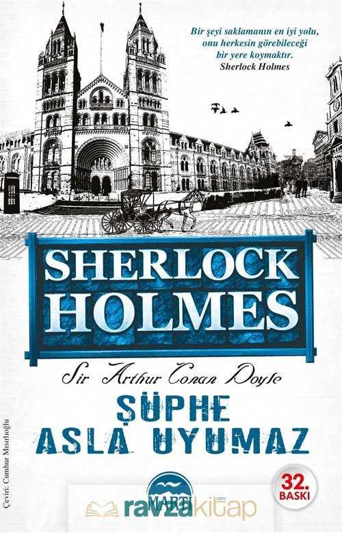 Martı Kitabevi - Şüphe Asla Uyumaz / Sherlock Holmes