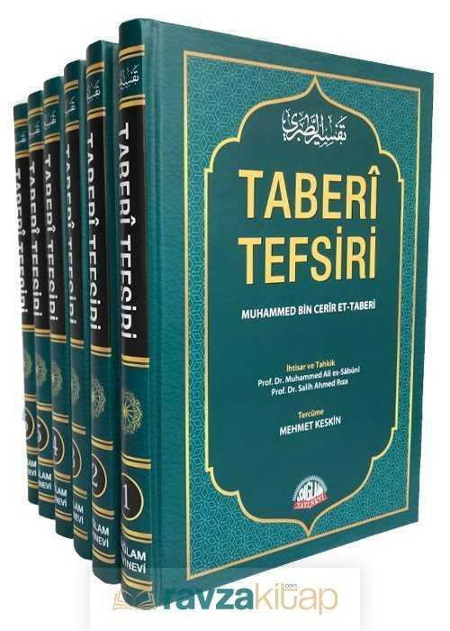 Sağlam Yayınları - Taberi Tefsiri, Kur'an-ı Kerim Tefsiri Tercümesi (6.Cilt-Takım)