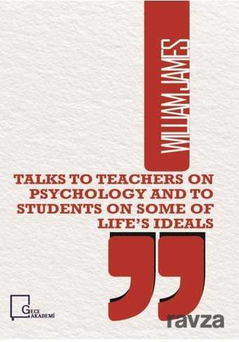 Gece Akademi - Talks To Teachers On Psychology And To Students On Some Of Life's Ideals