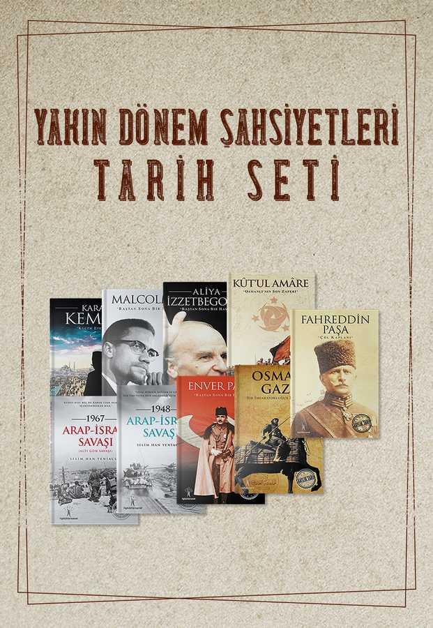 Yakın Tarih Şahsiyetleri ( 9 Kitap )
