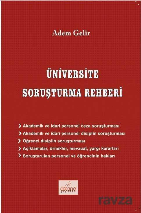 Astana Yayınları - Üniversite Soruşturma Rehberi