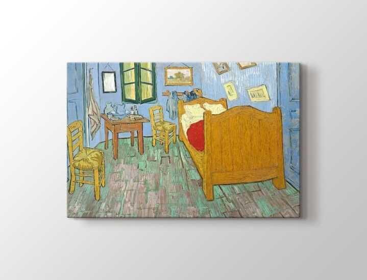Vincent van Gogh - The Bedroom Tablo |60 X 80 cm|