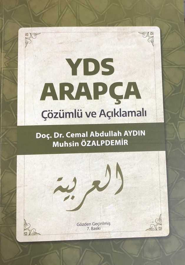 Kişisel Yayınlar - YDS Arapça Çözümlü ve Açıklamalı