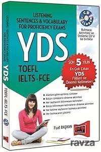 Yargı Yayınevi (Ankara) - YDS TOEFL IELTS - FCE (Cd Ek'li)