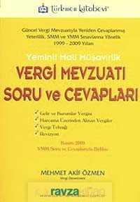 Türkmen Kitabevi - Yeminli Mali Müşavirlik Vergi Mevzuatı Soru Ve Cevapları